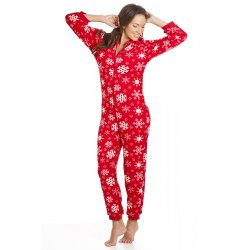 Womens Snow Flake Onesie