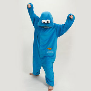 4f561a4d4a0e Cookie Monster Onesie